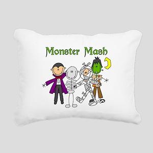 monstermashhallow Rectangular Canvas Pillow