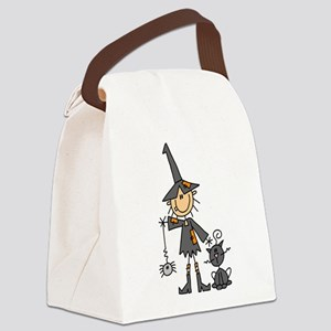 WITCHSTICKWITHCAT Canvas Lunch Bag