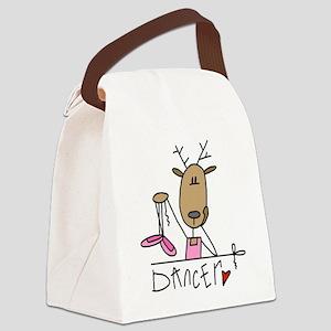 REINDEERDANCER Canvas Lunch Bag