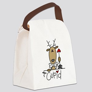 REINDEERCUPID Canvas Lunch Bag