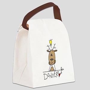 cowmoo Canvas Lunch Bag