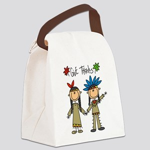 givethankssticks Canvas Lunch Bag