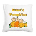 nanapumpkins.png Square Canvas Pillow
