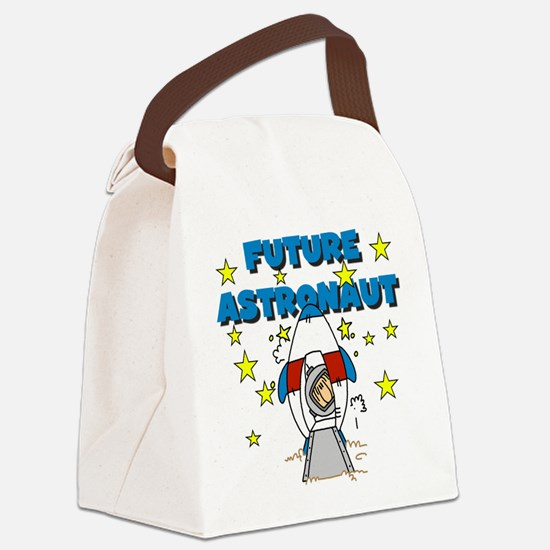 jfutureastronaut.png Canvas Lunch Bag