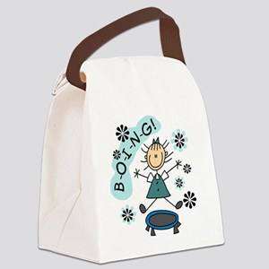 boingtrampoline Canvas Lunch Bag
