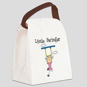 LITTLESWINGRL Canvas Lunch Bag