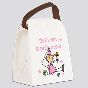 yesstickprincess Canvas Lunch Bag