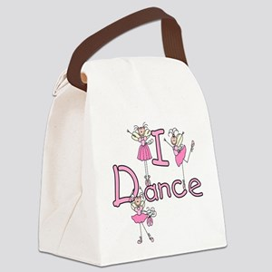 IDANCEGIRLBALLERINA Canvas Lunch Bag