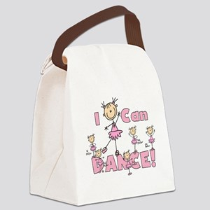 STICKFIGUREICANDANCE Canvas Lunch Bag