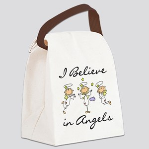 believeinangelstee Canvas Lunch Bag