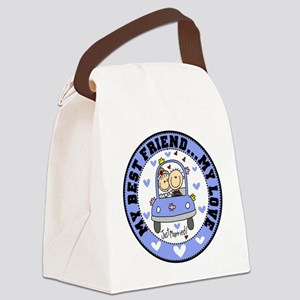 EMBROIDERWEDBESTFRIEND Canvas Lunch Bag