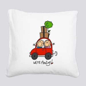 MOVINGTWO Square Canvas Pillow