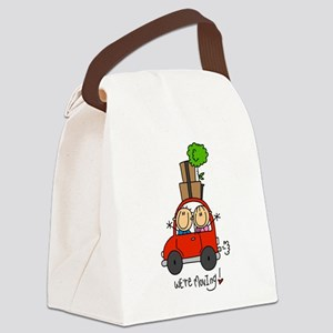 MOVINGTWO Canvas Lunch Bag