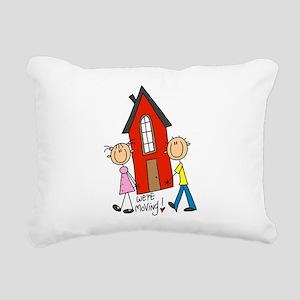 WEREMOVINGTEE Rectangular Canvas Pillow
