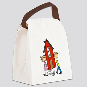 WEREMOVINGTEE Canvas Lunch Bag