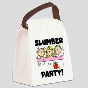 stickslumberpartyabc Canvas Lunch Bag