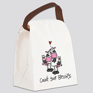 cowntblessings Canvas Lunch Bag