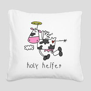 holycowtee Square Canvas Pillow