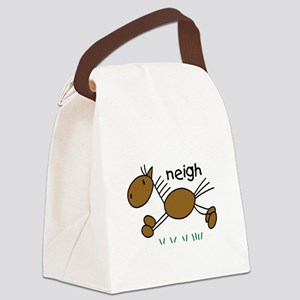 horseneigh Canvas Lunch Bag