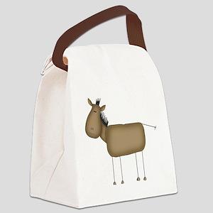 stickfigurehorset Canvas Lunch Bag