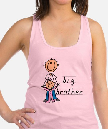 Big Brother With Little Sister Racerback Tank Top