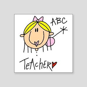 """headteacher Square Sticker 3"""" x 3"""""""