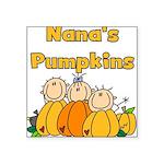 nanapumpkins.png Square Sticker 3