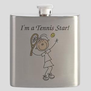 tennisstargirl Flask