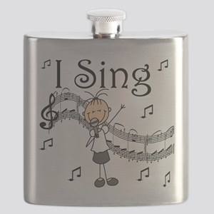 I Sing (FEMALE) Flask