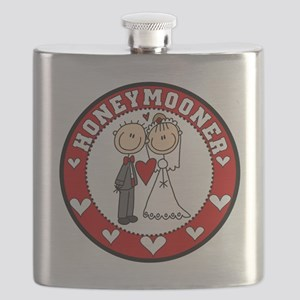 EMBROIDHONEYMOONER Flask