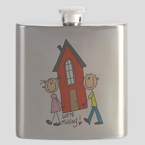 WEREMOVINGTEE Flask
