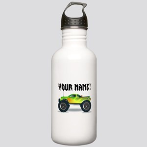 Personalized Monster Truck Stainless Water Bottle
