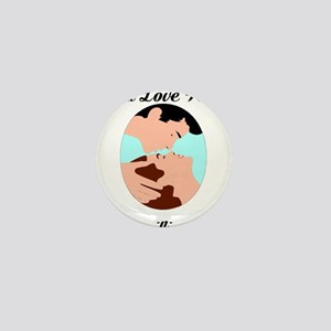 Custom love shirt Mini Button