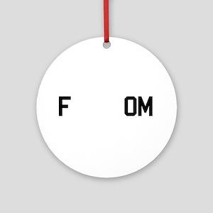 fREADom Ornament (Round)