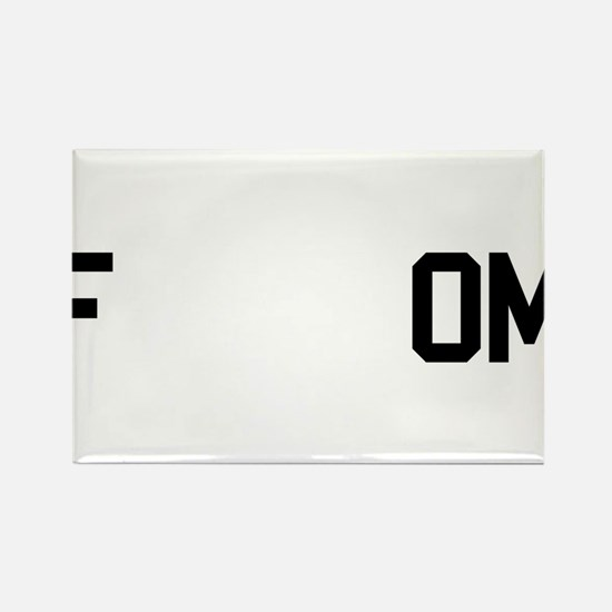 fREADom Rectangle Magnet