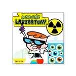 DEXTERSLABORATORYONE.png Square Sticker 3