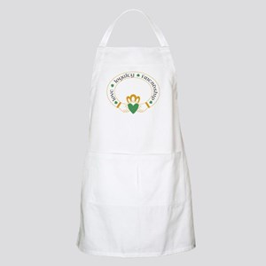 Claddagh Ring -- Apron