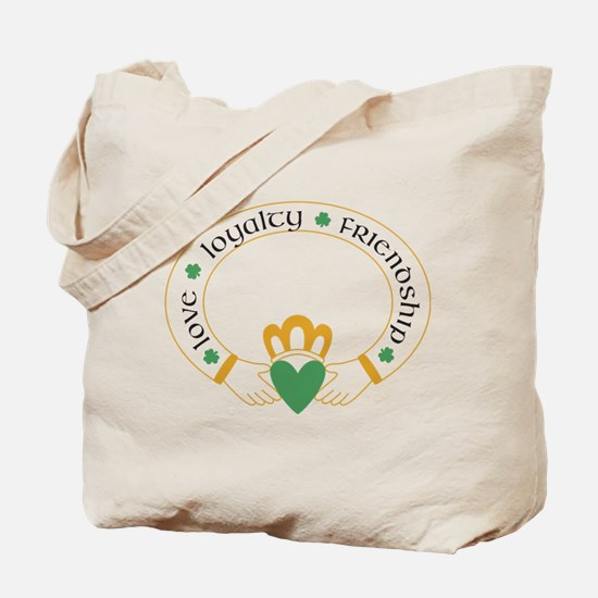 Claddagh Ring -- Tote Bag