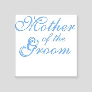 "bluemothergroomnew Square Sticker 3"" x 3"""