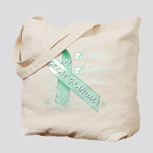 Great Grandma is a Fighter and Survivor Tote B