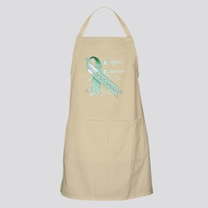 Great Grandma is a Fighter and Survivor Apron