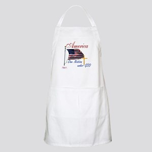 America One Nation Under God Apron