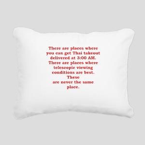 astronomer Rectangular Canvas Pillow