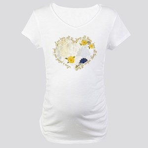 Love is Patient Maternity T-Shirt