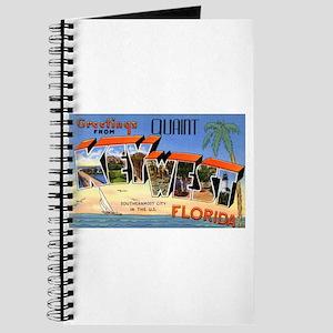 Key West Florida Greetings Journal