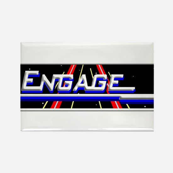3-engage new white trans.png Rectangle Magnet