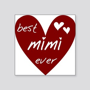 "redbestMIMI Square Sticker 3"" x 3"""