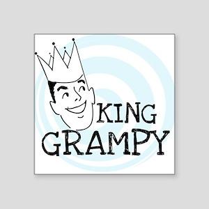 "KINGGGRAMPY Square Sticker 3"" x 3"""