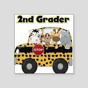 "school2ndgrader Square Sticker 3"" x 3"""