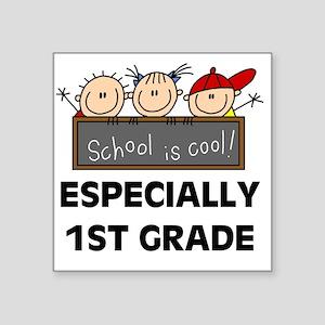 "SCHOOLCOOL1ST Square Sticker 3"" x 3"""